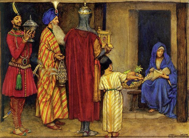 myrrh frankincense jezus